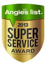 Angie's List Super Service Award 2013