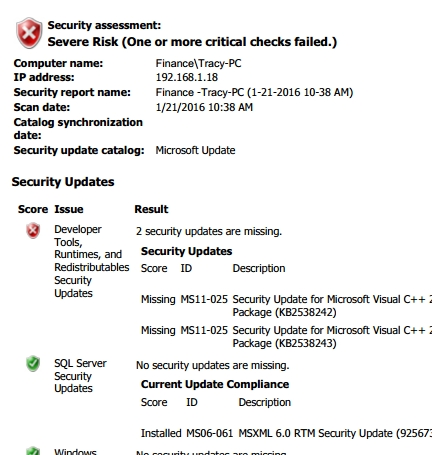 Workstation Security Audit Report