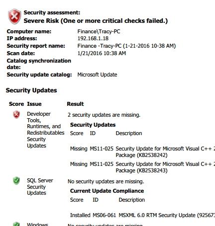Workstation Security Audit Report